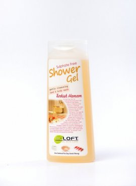 White Soap Shower Gel